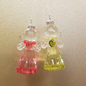 Hanging Angel with Heart (assorted colours)