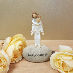 Daddy's Little Girl. (approx. 13x8cm)