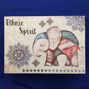 Boho Ethnic Spirit Box. (approx. 24x17x5.5cm)