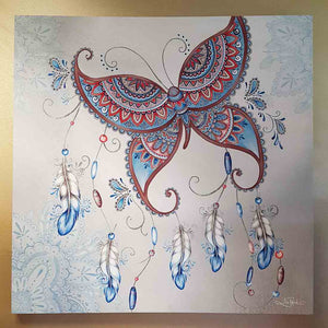 Fly Free Canvas (aprox. 80 x 80 x 2.8cm)