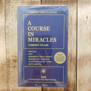 A Course In Miracles (the only complete edition)