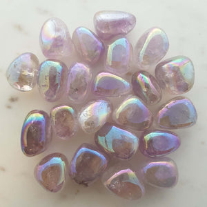 Amethyst Aura Tumble (assorted)