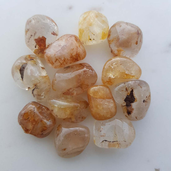 Golden Topaz Tumble (assorted. small)