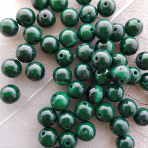 Malachite Bead (assorted. 6mm)