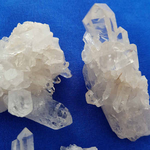 Clear Quartz Cluster (assorted. approx. 6-7x4-6cm)