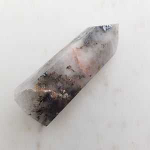 Dendritic Agate Polished Point (approx. 8x2.5x3cm)