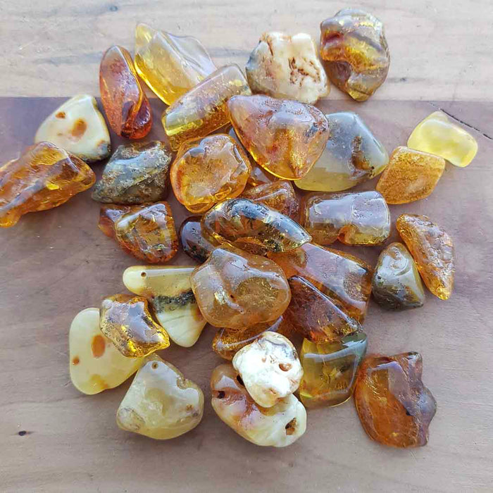 Amber Free Form Tumble (assorted)