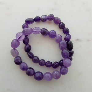 Amethyst Nugget Bracelet (assorted)
