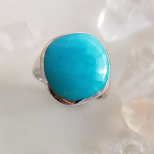 Nth American Turquoise Ring (sterling silver)
