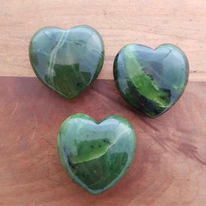 BC Jade Heart (assorted. approx. 4x4cm)