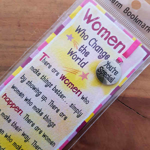 Women Who Change the World Bookmark (approx. 5.5x18.5cm)