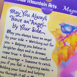 May You Always Have an Angel By Your Side Magnet (approx. 9x9cm)