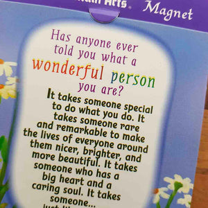 Wonderful Person Magnet (approx. 9x9cm)