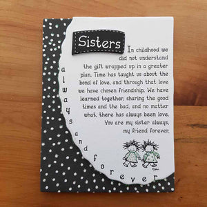 Sisters Magnet (approx. 9x12cm)
