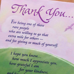 Thank You Magnet (approx. 9x12cm)