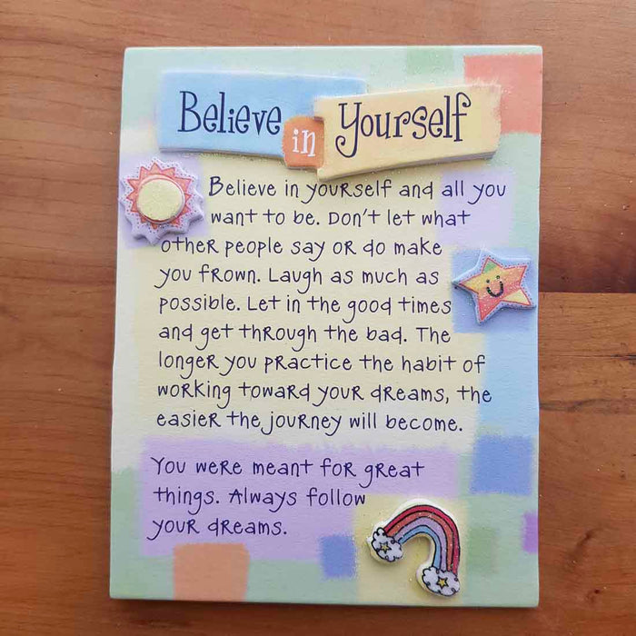 Believe in Yourself Magnet (aprox. 9x12cm)