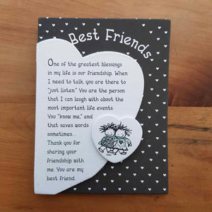 Best Friends Magnet (approx. 9x12cm)