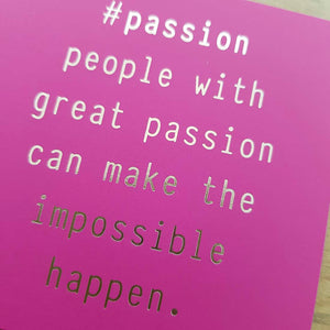 People with Great Passion Magnet