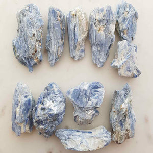 Blue Kyanite Rough Chunk (assorted. approx. 2.5x4.5cm)