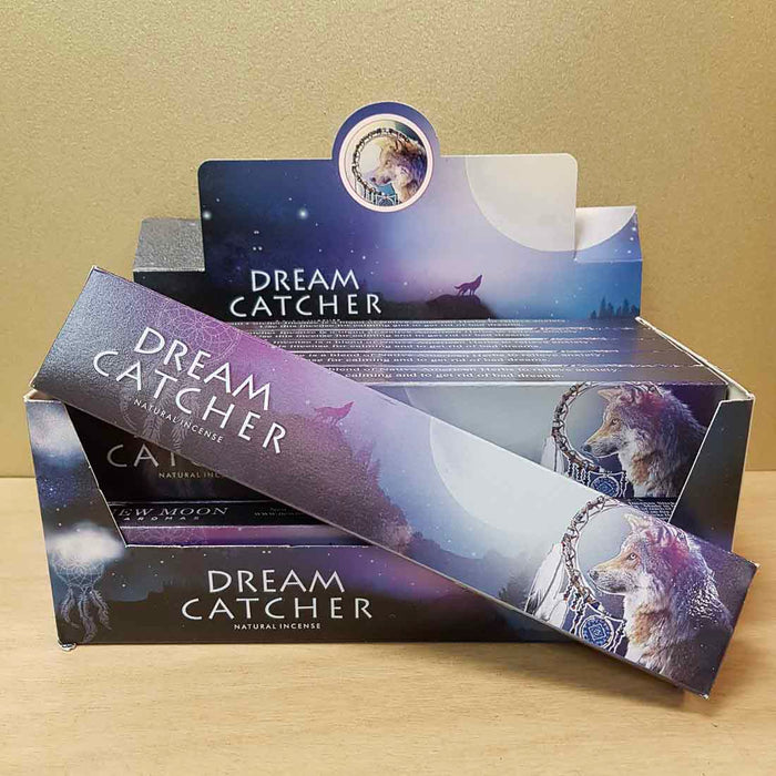 Dream Catcher Natural Incense (New Moon. 15gr)