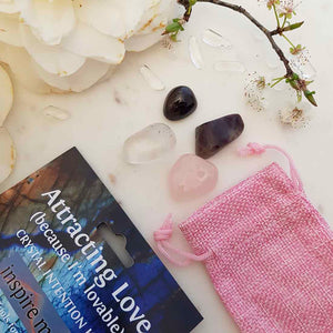 Attracting Love Crystal Intention Kit