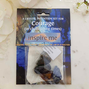 Courage Crystal Intention Kit