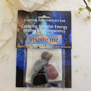 Creating Positive Energy Crystal Intention Kit