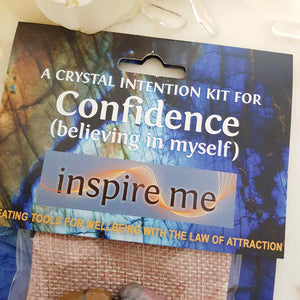 Confidence Crystal Intention Kit
