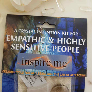 Empathic & Highly Sensitive People Crystal Intention Kit