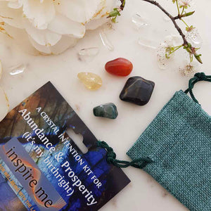 Abundance & Prosperity Crystal Intention Kit.