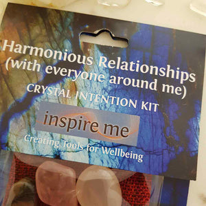 Harmonious Relationships Crystal Intention Kit