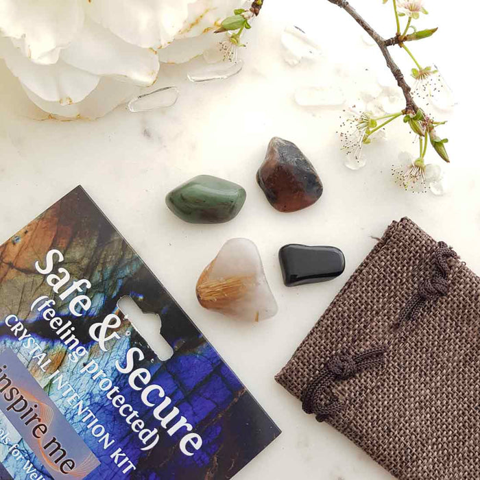 Safe & Secure Crystal Intention Kit