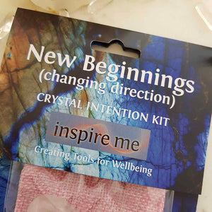 New Beginnings Crystal Intention Kit