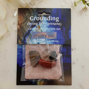 Grounding Crystal Intention Kit
