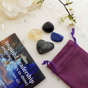Inspired Leadership Crystal Intention Kit