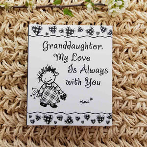 Granddaughter, My Love is Always With You