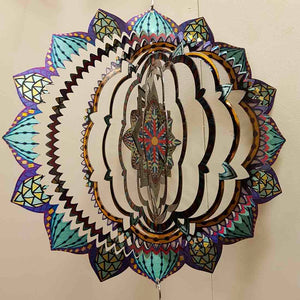 Mandala Wind Spinner