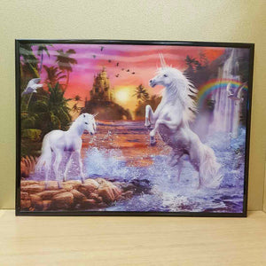 4D Unicorn Fantasy Picture