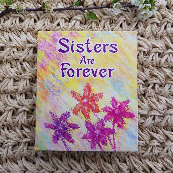 Sisters Are Forever (approx. 8.5x7cm)