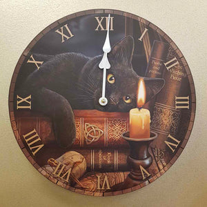 Witching Hour Clock by Lisa Parker (approx. 30cm diameter)