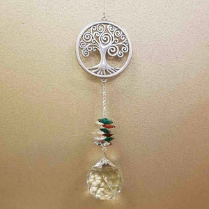 Tree of Life Eternity Crystal Wishing Thread