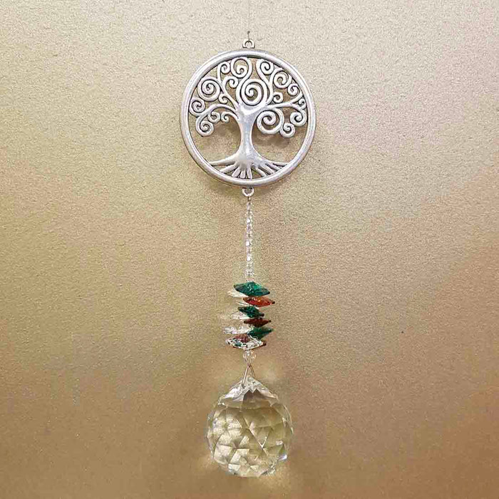 Tree of Life Eternity Crystal Wishing Thread (approx. 30cm long)