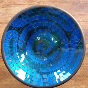 Blue Mosaic Bowl