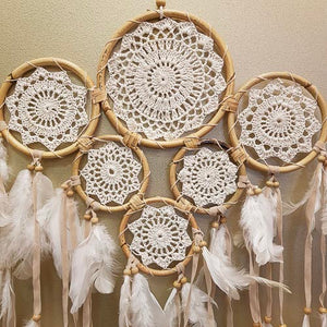 Gypsy 6 Ring Dream Catcher