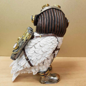 Steampunk Owl with Jet Pack