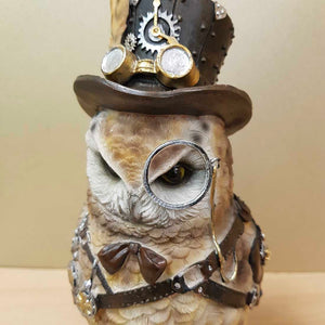 Steampunk Owl Monocle