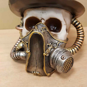 Steampunk Skull with Mask