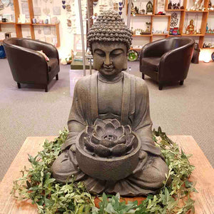 Buddha Water Feature with LED