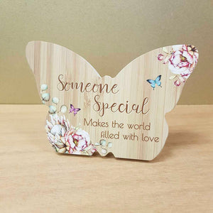 Someone Special Butterfly Plaque