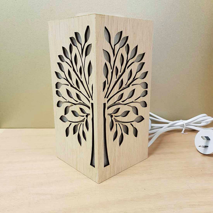 Tree of Life Electric Oil Burner (approx. 21x10x10cm)